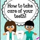 This freebie contains a few writing pages to help your students reflect on what they learned about dental health!