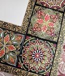 Alina Nureeva's photos Mandala Artwork, Mandala Painting, Flower Henna, Dot Art Painting, Turkish Art, Plate Art, Hand Painted Furniture, Stained Glass Patterns, Tile Art
