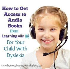 Our kids are back in major audio book listening mode, listening to audio books… Dyslexia Activities, Dyslexia Strategies, Learning Disabilities, Dyslexia Teaching, Teaching Strategies, Fun Activities, Teaching Ideas, Audio Books For Kids, Books For Teens