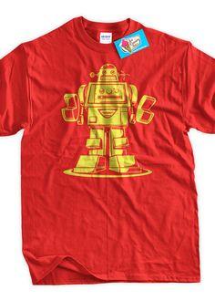 Funny Robot Tshirt Robotics TShirt Vintage Style by IceCreamTees, $14.99