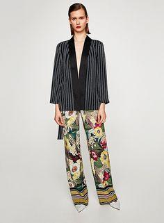Cómo llevar el Kimono. Zara