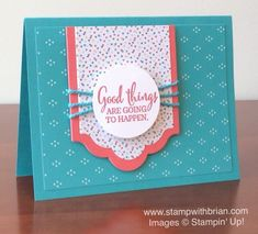 You've Got This, Lots of Labels Framelits, Stampin' Up!, Brian King
