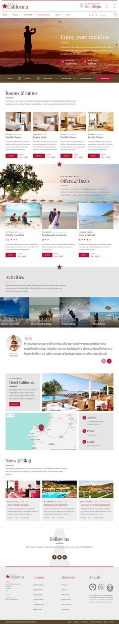 WordPress Theme exclusively built for hotel, hostel, private accomodation, bed and breakfast or resort websites. It is fully Responsive, Retina Ready and Easy to customize. Download theme here : http://themeforest.net/item/hotel-california-hotel-hostel-theme/15487618?ref=pxcr