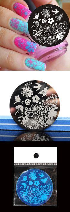 [Visit to Buy] Pandox Charming Spring Nail Art Stamp Template Image Plate Nail Stamping Plate AP24 Nail Stamp Plates Set #Advertisement