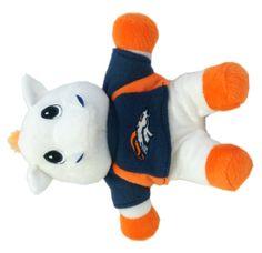 Denver Broncos Plush Mascot Beanie