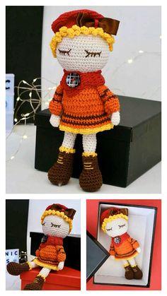 Free Crochet Doll Pattern & many amigurumi doll idea...
