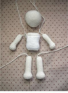 basic amigurumi doll pattern :) Grandma! What is amigurumi?