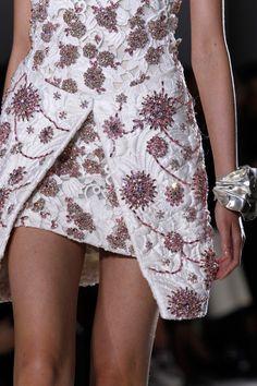 Details at Giambattista Valli Couture Spring 2014