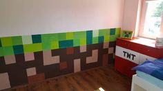 See more ideas about Minecraft, Room and Kids room. Cool Kids, Minecraft, Kids Room, Contemporary, Rugs, Children, Painting, Design, Home Decor