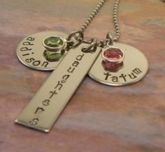 Hand Stamped Jewelry by tlbryant2006