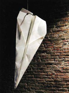"the unbearable lightness of Fabio Viale marble ""paper"" plane"
