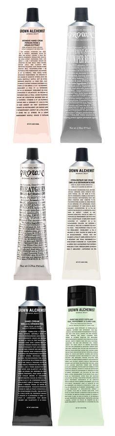 Grown Alchemist Packaging.