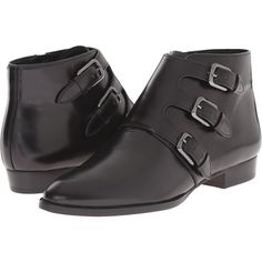 MICHAEL Michael Kors Prudence Flat Bootie Women's Boots ($135) ❤ liked on Polyvore featuring shoes, boots, ankle booties, black, ankle boots, black boots, black platform bootie, flat booties and flat black booties