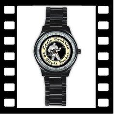 Cool black stainless steel Eddie Cochran themed - Twenty Flight Rocker wristwatch by RetroHound.co.uk http://www.retrohound.co.uk/Eddie_Cochran_-_20_Flight_Rocker_-_Stainless_Steel_Wristwatch/p3151970_14482364.aspx