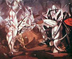 History of Art: Dorothea Tanning - Rencontre 1952