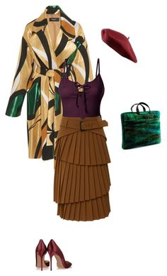 """""""Flouerdelisee"""" by federica-camilla-guerrera on Polyvore featuring LE3NO and NOVICA"""