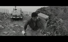 Can't open my eyes.too sad scene. Koreyoshi Kurahara in Black Sun 1964