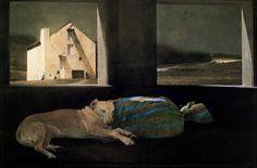 Andrew Wyeth - Night Sleeper