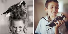 Rescued Magpie Makes a Home With the Bloom Family That Saved Her Life, http://itcolossal.com/magpie-penguin/