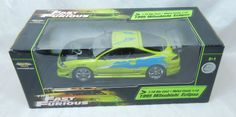 Ertl Mitsubishi Eclipse Fast and the Furious 1:18 Brian`s Car grün 1:18 33412 | eBay