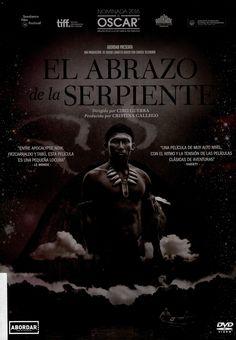 EL ABRAZO DE LA SERPIENTE. Karamakate, un poderoso chamán amazónico y último sobreviviente de su pueblo, vive en aislamiento voluntario en lo más profundo de la selva. Un día llega a su remota guarida Evan, un etnobotánico americano en busca de la yakruna, una misteriosa planta capaz de enseñar a soñar. Karamakate acompaña a Evan en un viaje al corazón de la selva en el que el pasado, presente y futuro se confunden, y en el que el chamán irá recuperando sus recuerdos perdidos