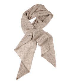 Sand Merino Wool Scarf