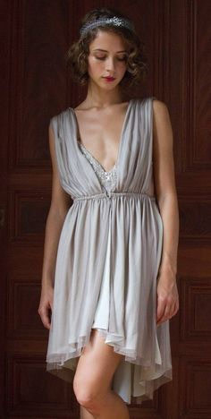 Grecian Dress - Love this for the Brides Maids!