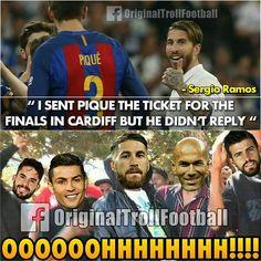 """Sergio Ramos is a Savage  """