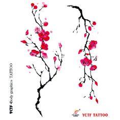 japanese sakura flower tattoo design - Buscar con Google