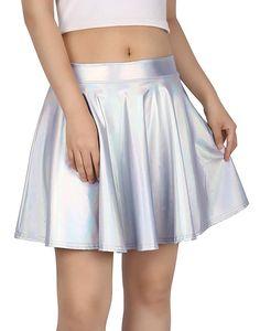 9 Colors S-XXL Girl PVC Short Skirt Faux Leather Women Black White Silver Clubwear A-Line Mini Skirt Night Club Skating Skirt Look Skater, Mini Skater Skirt, A Line Mini Skirt, Skater Skirts, Cheap Skirts, Short Skirts, Mini Skirts, Diy Circle Skirt, Circle Skirts