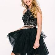 Stun the Crowd in Jovani Style 39548 Available at WhatchamaCallit Boutique