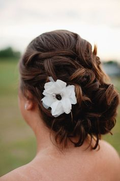 #hairstyles    Read More: http://www.stylemepretty.com/2011/08/11/glen-haven-wedding-by-bryan-and-mae-photography/