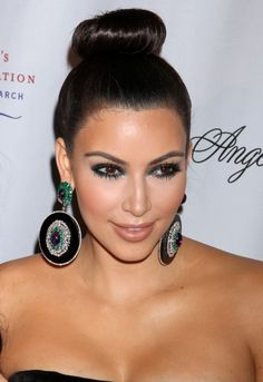 Miraculous Eva Longoria Celebrity Hairstyles And Cool Bun On Pinterest Hairstyles For Men Maxibearus