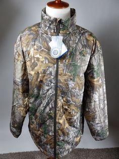 Columbia Realtree PHG Frost Fighter Jacket Hunt Camo HM5096-946 NEW Men XXL 2XL #Columbia #InsulatedJacket
