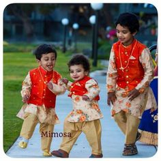 60 Ideas for dress designer indian for kids Mom And Son Outfits, Baby Boy Outfits, Kids Outfits, Kids Indian Wear, Kids Ethnic Wear, Wedding Dresses For Kids, Dresses Kids Girl, Baby Dresses, Kids Kurta