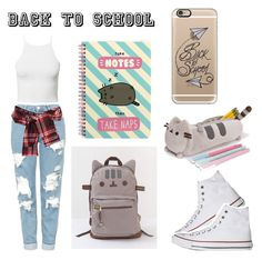 """""""#PVxPusheen"""" by pjprincess14 on Polyvore featuring Pusheen, Casetify, Converse, Topshop, David Szeto, NLY Trend, contestentry and PVxPusheen"""