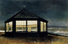 Andrew Wyeth, Two if by Sea    1995