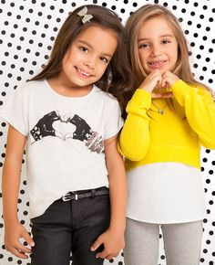 Little Girl's Love Not War Tee - Bardot Junior