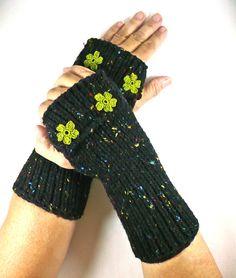 Damen-accessoires Lange Stricken Handschuhe Winter Fingerlose Für Frauen Arm Schnee Muster Mädchen Geschenk Warme ZuverläSsige Leistung