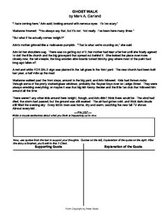 Foreshadow Worksheet - Templates and Worksheets