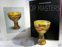 Indiana Jones and the Last Crusade Holy Grail wood chalice Cup Full Size Replica Prop