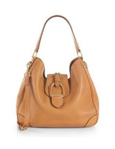 RALPH LAUREN COLLECTION Soft Stirrup Hobo