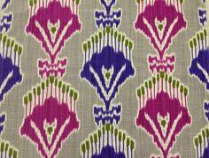Papadom Modern Ikat - Upholstery Fabric and Home Decor Fabric