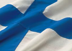 Cool shot of the Flag of Finland ~