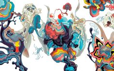 A selection of standout limited edition fine art prints by illustrator James Jean. James Jeans, Ghost In The Machine, Miuccia Prada, Design Graphique, New Art, Amazing Art, Illustrators, Cool Art, Fine Art Prints