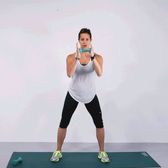Hit all your trouble areas in one go with this workout