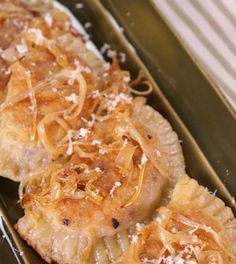 MICHAEL SYMON Braised Beef Pierogies with Fresh Horseradish