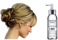updos: tips for girls with fine hair. for vanessa or sarah's wedding maybe?