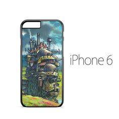 Howls Moving Castle Studio Ghibli iPhone 6 Case