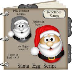 Santa Egg Script